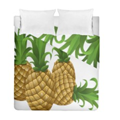 Pineapples Tropical Fruits Foods Duvet Cover Double Side (full/ Double Size)
