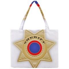 Sheriff S Star Sheriff Star Chief Mini Tote Bag by Nexatart