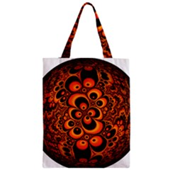 Fractals Ball About Abstract Zipper Classic Tote Bag by Nexatart