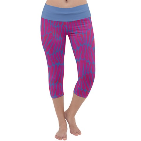 Capri Yoga Leggings Front