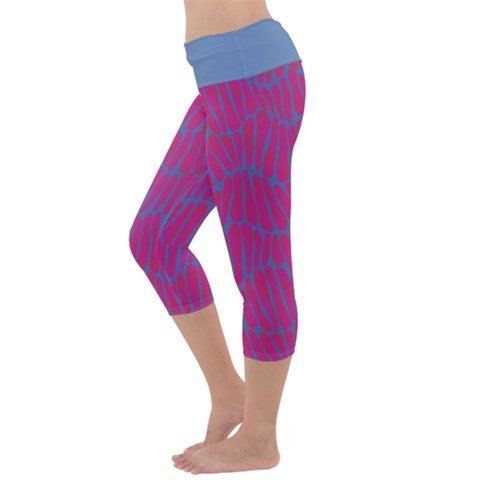 Capri Yoga Leggings Back