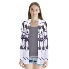 Grid Construction Structure Metal Cardigans by Nexatart
