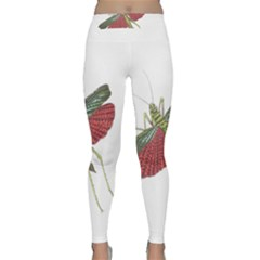 Grasshopper Insect Animal Isolated Classic Yoga Leggings