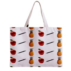 Ppap Pen Pineapple Apple Pen Zipper Mini Tote Bag by Nexatart