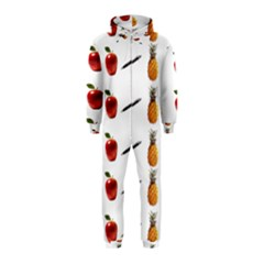 Ppap Pen Pineapple Apple Pen Hooded Jumpsuit (Kids)