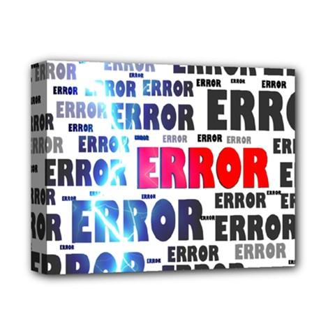 Error Crash Problem Failure Deluxe Canvas 14  X 11