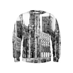 York Cathedral Vector Clipart Kids  Sweatshirt