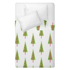 Christmas Tree Duvet Cover Double Side (single Size) by Nexatart