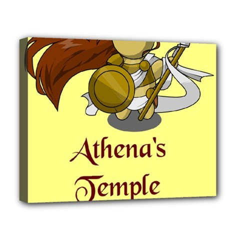 Athena s Temple Deluxe Canvas 20  X 16   by athenastemple