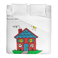 No School Greater    Duvet Cover (full/ Double Size) by athenastemple