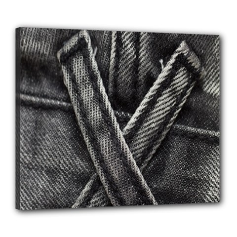Backdrop Belt Black Casual Closeup Canvas 24  X 20  by Nexatart