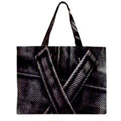 Backdrop Belt Black Casual Closeup Zipper Mini Tote Bag by Nexatart