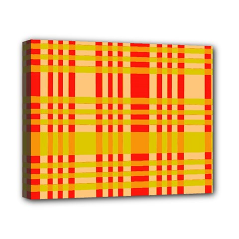 Check Pattern Canvas 10  X 8  by Nexatart