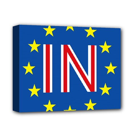 Britain Eu Remain Deluxe Canvas 14  X 11