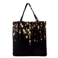Christmas Star Advent Background Grocery Tote Bag