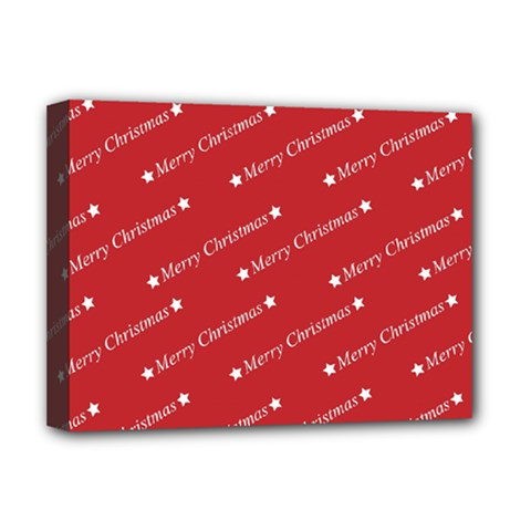 Christmas Paper Background Greeting Deluxe Canvas 16  X 12