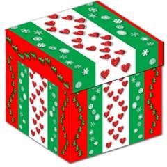 Christmas Snowflakes Christmas Trees Storage Stool 12