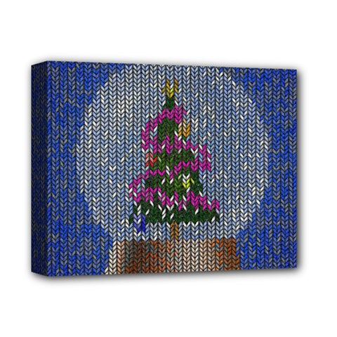 Christmas Snow Deluxe Canvas 14  X 11