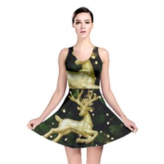 December Christmas Cologne Reversible Skater Dress
