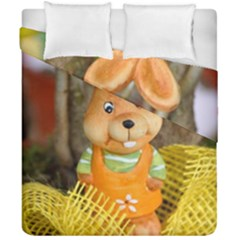 Easter Hare Easter Bunny Duvet Cover Double Side (california King Size) by Nexatart