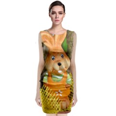 Easter Hare Easter Bunny Classic Sleeveless Midi Dress