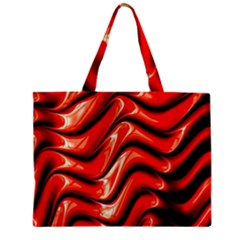 Fractal Mathematics Abstract Zipper Mini Tote Bag by Nexatart