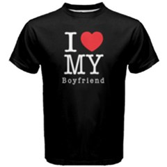 I Love My Boyfriend    Men s Cotton Tee