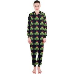 Irish Christmas Xmas Hooded Jumpsuit (ladies)