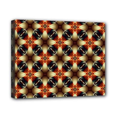 Kaleidoscope Image Background Canvas 10  X 8  by Nexatart