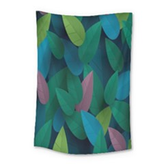 Leaf Rainbow Small Tapestry by Jojostore