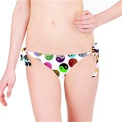 Ying Yang Seamless Color Cina Bikini Bottom
