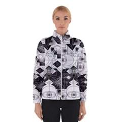 Point Line Plane Themed Original Design Winterwear
