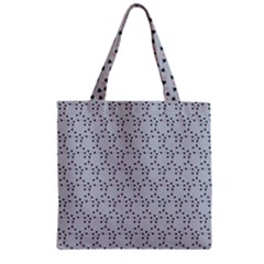 Winter Bear Triangel Zipper Grocery Tote Bag by Jojostore