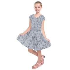 Winter Bear Triangel Kids  Short Sleeve Dress
