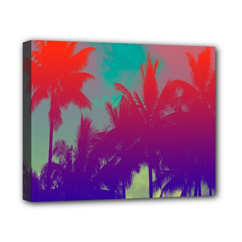Tropical Coconut Tree Canvas 10  X 8  by Jojostore