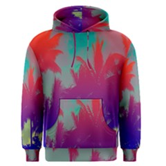 Tropical Coconut Tree Men s Pullover Hoodie