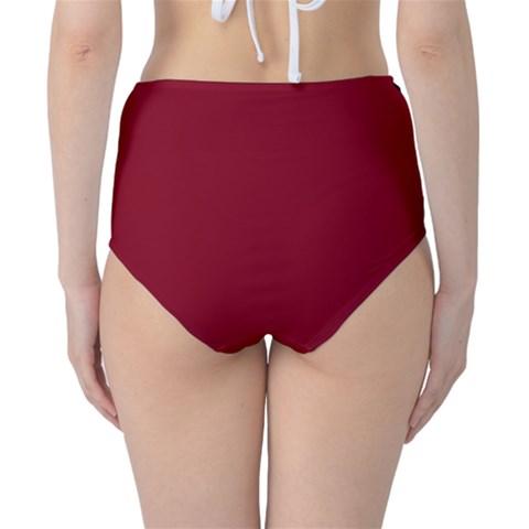 Classic High-Waist Bikini Bottoms