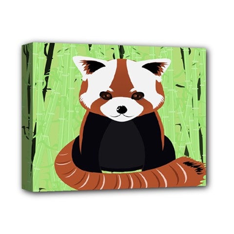 Red Panda Bamboo Firefox Animal Deluxe Canvas 14  X 11