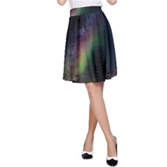 Starry Sky Galaxy Star Milky Way A Line Skirt by Nexatart