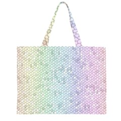 The Background Wallpaper Mosaic Zipper Large Tote Bag by Nexatart