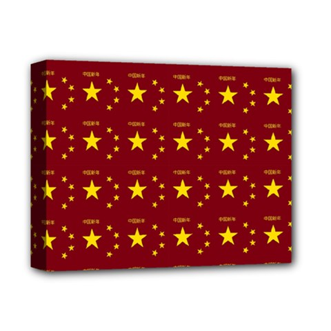 Chinese New Year Pattern Deluxe Canvas 14  x 11