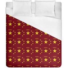 Chinese New Year Pattern Duvet Cover (California King Size)