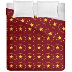 Chinese New Year Pattern Duvet Cover Double Side (California King Size)