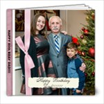 Ediks 80th Bday Party - 8x8 Photo Book (20 pages)