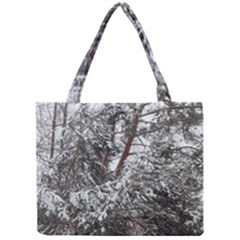 Winter Fall Trees Mini Tote Bag by ansteybeta
