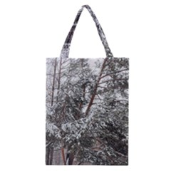 Winter Fall Trees Classic Tote Bag by ansteybeta