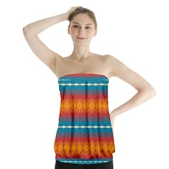 Shapes Rows                                                             Strapless Top by LalyLauraFLM