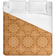 Intricate Modern Baroque Seamless Pattern Duvet Cover (King Size) by dflcprints