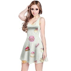 Cute Cakes Reversible Sleeveless Dress by Brittlevirginclothing
