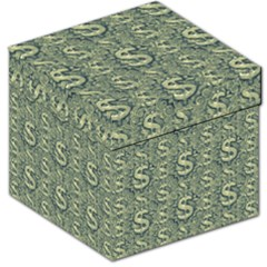 Money Symbol Ornament Storage Stool 12